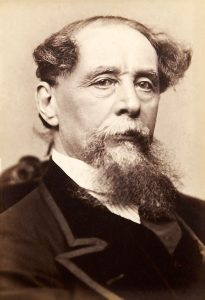 Charles Dickens by Gurney (Public Domain)