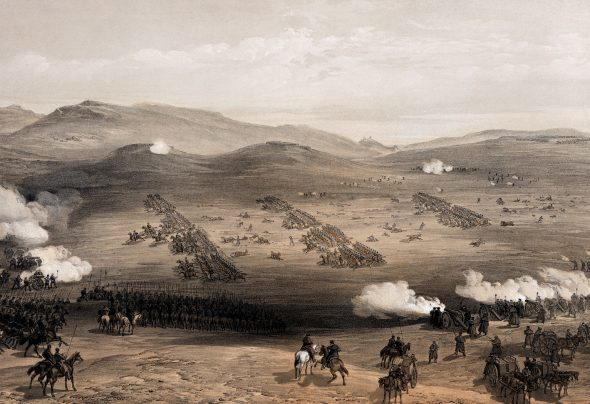 Charge of the Light Brigade - painting by William Simpson