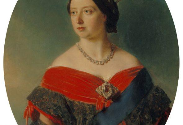 Queen Victoria Winterhalter portrait 1856