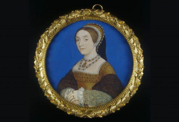 Katheryn Howard portrait miniature