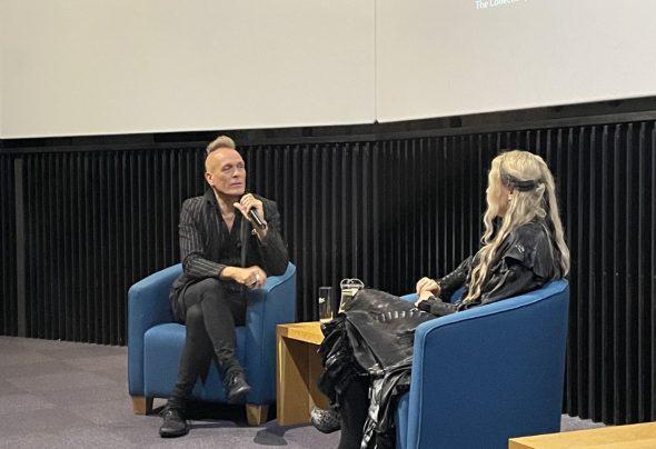 John Robb at Lincoln Book Festival 2021